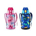 不锈钢真空童用保温瓶(吸管型)SD-CKE36